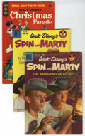 Silver Age (1956-1969):Western, Spin and Marty File Copy Group (Dell, 1958-59) Condition: Average VF-. Group includes Spin and Marty #5 (photo cover), a... (Total: 3 Comic Books)