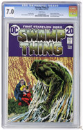 Bronze Age (1970-1979):Horror, Swamp Thing #1 (DC, 1972) CGC FN/VF 7.0 White pages. BernieWrightson cover and art. First telling of revised origin. First ...