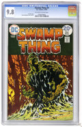 Bronze Age (1970-1979):Horror, Swamp Thing #9 (DC, 1974) CGC NM/MT 9.8 Off-white to white pages.Bernie Wrightson cover and art. Overstreet 2006 NM- 9.2 va...