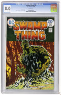 Bronze Age (1970-1979):Horror, Swamp Thing #9 (DC, 1974) CGC VF 8.0 White pages. Bernie Wrightsoncover and art. Overstreet 2006 VF 8.0 value = $22. CGC ce...