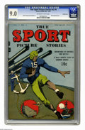 Golden Age (1938-1955):Miscellaneous, True Sport Picture Stories V2#4 Crowley Copy pedigree (Street & Smith, 1943) CGC VF/NM 9.0 Off-white to white pages. Jack Bi...