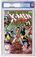 Modern Age (1980-Present):Superhero, X-Men #166 (Marvel, 1983) CGC NM 9.4 Off-white to white pages. Double-sized issue. First appearance of Lockheed. Origin of A...