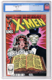 X-Men #179 (Marvel, 1984) CGC NM- 9.2 White pages. First appearance of Leech and Healer. John Romita Jr. cover and art...