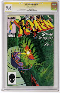 "X-Men #181 Signature Series (Marvel, 1984) CGC NM+ 9.6 White pages. John Romita Jr. and Dan Green art. CGC notes, ""..."
