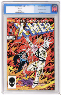 X-Men #184 (Marvel, 1984) CGC NM- 9.2 White pages. First appearance of Forge. John Romita Jr. and Dan Green cover and ar...