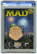 Magazines:Mad, Mad #34 (EC, 1957) CGC NM- 9.2 Cream to off-white pages. Parody of author Dr. Fredric Wertham. Norman Mingo cover. Interior ...