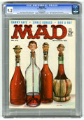 Magazines:Mad, Mad #42 (EC, 1958) CGC NM- 9.2. Kelly Freas painted cover. WallyWood, Joe Orlando, Mort Drucker, Dave Berg, and Don Martin ...