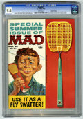 Magazines:Mad, Mad #57 Gaines File pedigree (EC, 1960) CGC NM 9.4 White pages.Kelly Freas front and back covers. Comic strip parodies with...
