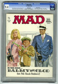 "Magazines:Mad, Mad #119 Gaines File pedigree (EC, 1968) CGC NM 9.4 White pages.""The Invaders"" TV spoof. First color fold-in. Norman Mingo ..."