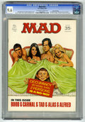 "Magazines:Mad, Mad #137 Gaines File pedigree (EC, 1970) CGC NM+ 9.6 Off-white towhite pages. Johnny Carson photo. ""Marcus Welby"" parody. J..."