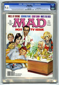 Magazines:Mad, Mad #266 Gaines File pedigree (EC, 1986) CGC NM+ 9.6 White pages.Mort Drucker wraparound cover featuring Johnny Carson, Joa...