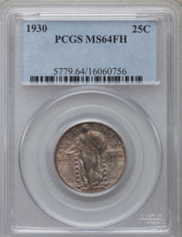 1930 25C MS64 Full Head PCGS. PCGS Population (921/1009). NGC Census: (792/651). Mintage: 5,632,000. Numismedia Wsl. Pri...