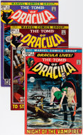 Bronze Age (1970-1979):Horror, Tomb of Dracula Group (Marvel, 1972-79) Condition: Average FN+....(Total: 46 Comic Books)