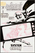 Original Comic Art:Covers, Scott McDaniel Daredevil #330 Gambit Cover Original Art(Marvel, 1994)....