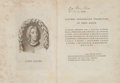 Books:Philosophy, John Locke. Letters Concerning Toleration. London: Printed for A. Millar..., 1765. First collected edition of Locke'...