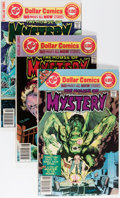 Bronze Age (1970-1979):Horror, House of Mystery Group (DC, 1977-83) Condition: Average VF+....(Total: 10 Comic Books)
