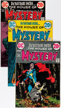 Bronze Age (1970-1979):Horror, House of Mystery Group (DC, 1973-75) Condition: Average VF....(Total: 13 Comic Books)