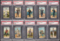 "Non-Sport Cards:Sets, 1909-13 T81 Recruit ""Military Series"" PSA Near Set (39/50) - #2 onthe PSA Set Registry. ..."