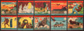 """Non-Sport Cards:Sets, 1941 R12 W.S. Corporation """"America At War"""" (#'d 501-548) CompleteSet (48). ..."""
