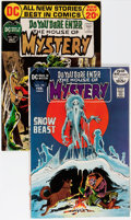 Silver Age (1956-1969):Horror, House of Mystery #199 and 204 Group (DC, 1972) Condition: Average NM.... (Total: 2 Comic Books)
