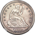 Seated Quarters, 1878-S 25C MS65 NGC....