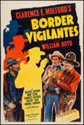 "Movie Posters:Western, Border Vigilantes (Paramount, 1941). One Sheet (27"" X 41"").Western.. ..."