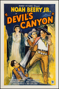"""Devil's Canyon (Sunset Productions, 1935). One Sheet (27"""" X 41""""). Western"""