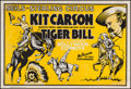 """Movie Posters:Miscellaneous, Kit Carson in the Seils-Sterling Circus (Central Show Printing Co., 1930s). Circus Poster (28"""" X 41""""). Miscellaneous.. ..."""