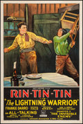 """Movie Posters:Serial, The Lightning Warrior (Mascot, 1931). One Sheet (27"""" X 41"""").Serial.. ..."""