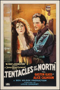 """Movie Posters:Adventure, In the Tentacles of the North (Rayart Pictures, 1926). One Sheet(27"""" X 41""""). Adventure.. ..."""