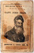 Books:Americana & American History, [Abolition] The Life, Trial and Execution of Capt. John Brown.Being a Full Account of the Attempted Insurrection at Har...