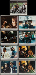 """Movie Posters:Drama, Easy Rider (Columbia, 1969). Color Photo Set of 8 and Color Photo(8"""" X 10""""). Drama.. ... (Total: 9 Items)"""