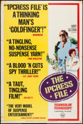 "Movie Posters:Thriller, The Ipcress File (Universal, 1965). Poster (40"" X 60"") Style Z. Thriller.. ..."
