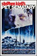"""Movie Posters:Horror, Pet Sematary and Others Lot (Paramount, 1989). One Sheets (3) (27"""" X 41"""" & 27"""" X 40"""") SS & DS. Horror.. ... (Total: 3 Items)"""