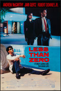 """Movie Posters:Drama, Less Than Zero and Others Lot (20th Century Fox, 1987). One Sheets (5) (27"""" X 41"""" & 27"""" X 40"""") SS & DS. Drama.. ... (Total: 5 Items)"""