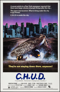 """C.H.U.D. & Other Lot (New World, 1984). One Sheets (2) (27"""" X 41""""). Horror. ... (Total: 2 Items)"""