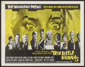 """Movie Posters:Mystery, Ten Little Indians (Seven Arts, 1966). Half Sheet (22"""" X 28"""").Mystery.. ..."""