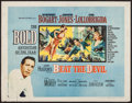"Movie Posters:Adventure, Beat the Devil (United Artists, 1953). Half Sheet (22"" X 28"") StyleB. Adventure.. ..."