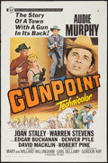 """Movie Posters:Western, Gunpoint & Other Lot (Universal, 1966). One Sheets (2) (27"""" X 41""""), Military One Sheet (27"""" X 41""""), & Lobby Cards (9) (11"""" x... (Total: 11 Items)"""