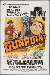 """Gunpoint & Other Lot (Universal, 1966). One Sheets (2) (27"""" X 41""""), Military One Sheet (27"""" X 41""""..."""