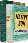 Books:Fiction, Richard Wright. Native Son. New York: Harper & Brothers,1940....