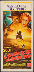 "Movie Posters:Western, Man in the Saddle (Columbia, 1953). Italian Locandina (13"" X 27.5""). Western.. ..."