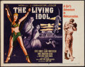 "Movie Posters:Adventure, The Living Idol (MGM, 1956). Half Sheet (22"" X 28"") Style B.Adventure.. ..."