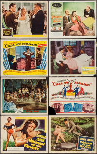 "Woman of the River & Others Lot (Columbia, 1957). Title Lobby Cards (2) & Lobby Cards (6) (11"" X 14..."