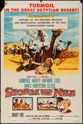 "Movie Posters:Adventure, Storm Over the Nile (Columbia, 1955). One Sheet (27"" X 41"").Adventure.. ..."