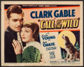 """Movie Posters:Adventure, The Call of the Wild (United Artists, 1935). Title Lobby Card (11""""X 14""""). Adventure.. ..."""