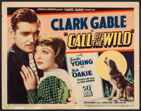 """The Call of the Wild (United Artists, 1935). Title Lobby Card (11"""" X 14""""). Adventure"""