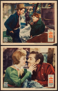 """The Call of the Wild (United Artists, 1935). Lobby Cards (2) (11"""" X 14""""). Adventure. ... (Total: 2 Items)"""