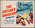 "Movie Posters:Western, The Outlaw's Daughter & Others Lot (20th Century Fox, 1954). Half Sheet (22"" X 28""), & One Sheets (27"" X 41""). Western.. ... (Total: 3 Items)"