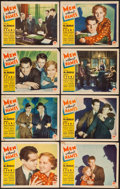 "Movie Posters:Crime, Men Without Names (Paramount, 1935). Lobby Card Set of 8 (11"" X14""). Crime.. ..."